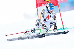 19.12.2018, Saalbach Hinterglemm, AUT, FIS Weltcup Ski Alpin, Riesenslalom, Herren, 1. Lauf, im Bild Alexander Schmid (GER) // Alexander Schmid of Germany in action during his 1st run of men's Giant Slalom of FIS ski alpine world cup. Saalbach Hinterglemm, Austria on 2018/12/19. EXPA Pictures © 2018, PhotoCredit: EXPA/ Erich Spiess