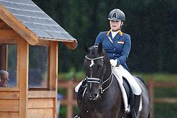 Meulendijks Lotte, (NED), Mdh Ohio<br /> Young Rider Kür Final<br /> Dutch Championship Dressage - Ermelo 2015<br /> © Hippo Foto - Dirk Caremans<br /> 19/07/15