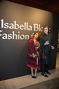 MARTINA RINK; DANIEL LISMORE, Isabella Blow: Fashion Galore! private view, Somerset House. London. 19 November 2013