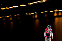 September 23, 2017 - Bergen, NORWAY - 170923 Katrine Aalerud of Norway competes during the Women Elite Road Race on September 23, 2017 in Bergen..Photo: Vegard Wivestad GrÂ¿tt / BILDBYRN / kod VG / 170026 (Credit Image: © Vegard Wivestad Gr¯Tt/Bildbyran via ZUMA Wire)