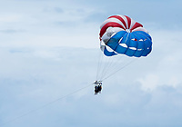 Parasailing over the Pacific near Manuel Antonio National Park, Costa Rica