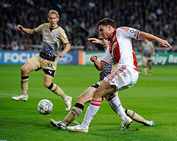 02.11.2011, Amsterdam ArenA, Amsterdam, NED, UEFA CL, Ajax vs Dinamo Zagreb, im Bild Derk Boerrigter during UEFA Champions League match between AFC Ajax and Dinamo Zagreb at  statium Amsterdam ArenA in Amsterdam Netherlands on 02/11/2011..EXPA Pictures © 2011, PhotoCredit: EXPA/ nph/   Ronald Hoogendoorn .+++++ ATTENTION - OUT OF NETHERLANDS +++++       ****** out of GER / CRO  / BEL ******