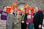 Galway launches 200 Gatherings ! Come home to Irelands Cultural Heart  with help of The Aquinas College Anniversary Reunion Gathering Anna Mathews Gerard Coyne Professor Deborah Wickering Michelle Plumsted Kevin Heanue  at Aras An Contae. Picture Andrew Downes.