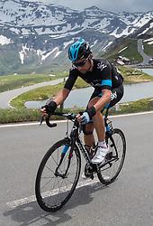 03.07.2013, Fuscher Lacke, Grossglockner Hochalpenstrasse,  AUT, 65. Oesterreich Rundfahrt, 4. Etappe, Matrei in Osttirol - St. Johann Alpendorf, im Bild Xabier Zandio Echaide (SPA, SKY Procycling GBR) // during the 65 th Tour of Austria, Stage 4, from Matrei in Osttirol to St. Johann Alpendorf, Grossglockner Hochalpenstrasse, Austria on 2013/07/03. EXPA Pictures © 2013, PhotoCredit: EXPA/ Johann Groder
