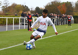 November 6, 2018 - London, England, United Kingdom - Enfield, UK. 06 November, 2018.Dilan Markanday of Tottenham Hotspur.during UEFA Youth League match between Tottenham Hotspur and PSV Eindhoven at Hotspur Way, Enfield. (Credit Image: © Action Foto Sport/NurPhoto via ZUMA Press)