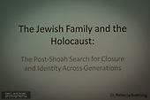 Prof Boehling Holocaust talk JCC