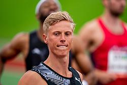 KoenSmetof Netherlands in action on the 110 meter hurdle during FBK Games 2021 on 06 june 2021 in Hengelo.