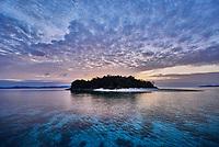 Brother desert island between El Nido in Palawan Philippines