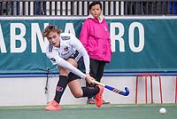 AMSTELVEEN - Floris Middendorp (Amsterdam) tijdens de competitie hoofdklasse hockeywedstrijd heren, Amsterdam -Rotterdam (2-0) .  COPYRIGHT KOEN SUYK