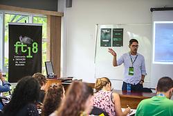 Marcel Fukayama palestra <br /> Sistema B - Redefinindo sucesso para uma nova economia inclusiva e sustentável, durante o #FT18, realizado pela ADVB-RS, na ESPM-Sul. Inspirado em alguns dos maiores eventos do mundo de inovação e tendências (SXSW, Cannes Lions e Burning Man), o #FT18 é maior hub de conteúdo da história de Porto Alegre.  Foto: Gustavo Granata / Agência Preview