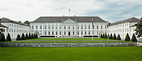 Schloss Bellevue Headquater of the Federal President in berlin germany