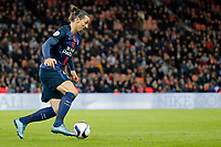 Zlatan Ibrahimovic (psg) during the French Championship Ligue 1 football match between Paris Saint Germain and ES Troyes AC on November 28, 2015 at Parc des Princes stadium in Paris, France. Photo Stephane Allaman / DPPI