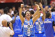 DESCRIZIONE :  Lega A 2014-15  EA7 Milano -Banco di Sardegna Sassari playoff Semifinale gara 7<br /> GIOCATORE : Devecchi Giacomo<br /> CATEGORIA : Low Esultanza Mani <br /> SQUADRA : Banco di Sardegna Sassari<br /> EVENTO : PlayOff Semifinale gara 7<br /> GARA : EA7 Milano - Banco di Sardegna Sassari PlayOff Semifinale Gara 7<br /> DATA : 10/06/2015 <br /> SPORT : Pallacanestro <br /> AUTORE : Agenzia Ciamillo-Castoria/A.Scaroni<br /> Galleria : Lega Basket A 2014-2015 Fotonotizia : Milano Lega A 2014-15  EA7 Milano - Banco di Sardegna Sassari playoff Semifinale  gara 7<br /> Predefinita :