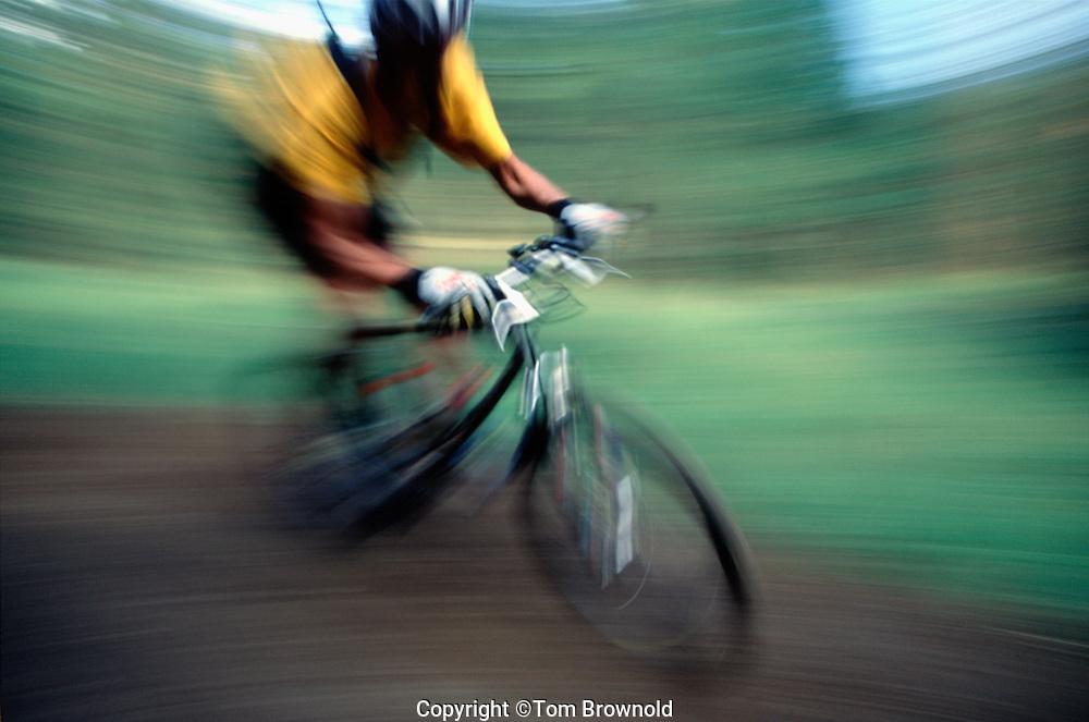 Single Track mountain bike riding