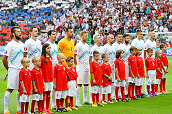 Team of Slovenia during the EURO 2016 Qualifier Group E match between Slovenia and England at SRC Stozice on June 14, 2015 in Ljubljana, Slovenia. Photo by Mario Horvat / Sportida