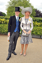The EARL & COUNTESS OF DERBY at the Royal Ascot racing festival 2009 held on 17th June 2009.