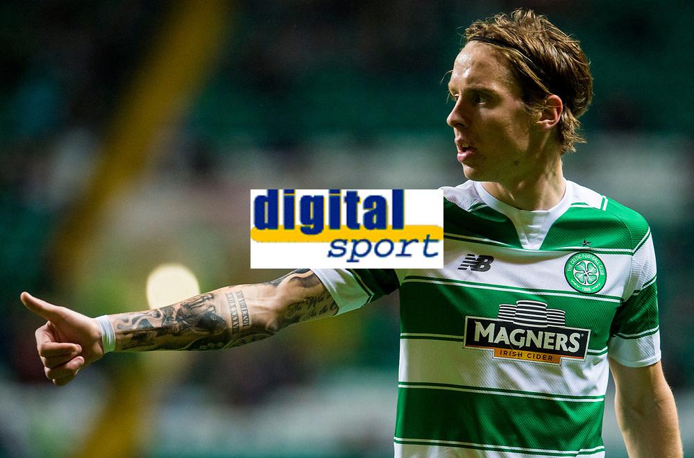 23/09/15 SCOTTISH LEAGUE CUP 3RD ROUND    <br />   CELTIC v RAITH ROVERS <br />   CELTIC PARK - GLASGOW  <br />   Stefan Johansen in action for Celtic