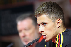 Belgium Press Conference and Training - 22 May 2018