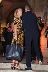Karin Viard and Guillaume Canet arriving at Longchamp 70th anniversary party at Opera Garnier in Paris, France on September 11, 2018. Photo by Nasser Berzane/ABACAPRESS.COM.