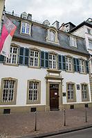 TRIER (Treves) - Duitsland - binnenstad, innerstadt,   City, centrum, Karl-Marx huis,   COPYRIGHT KOEN SUYK