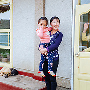 This family host tourists, mostly Chinese or North Korean, in a small homestay in the Chilbo Mountain. As very trusty citizens they have a quite good level of living. Six kilometers to the south is the Musudan-ri Missile Launchpad.