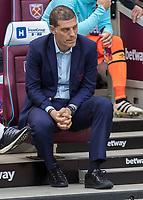 Football - 2016 / 2017 Premier League - West Ham United vs. Middesborough <br /> <br /> An apprehensive looking West Ham Manager Slaven Bilic before kick off at The London Stadium.<br /> <br /> COLORSPORT/DANIEL BEARHAM