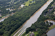 Water flooding   Interstate 10 (I-10), a major transcontinental Interstate Highway in the Southern United States during a 1000-year flood that hit Southern Louisiana in August, 2016.