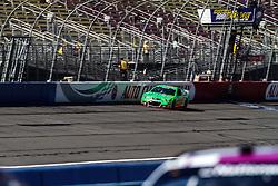 Fontana, CA/USA (Saturday, March 23, 2013) -  NASCAR Sprint Cup Series Driver Danica Patrick drives car #10 during practice at the Auto Club Speedway in Fontana, CA   PHOTO © Eduardo E. Silva/SILVEX.PHOTOSHELTER.COM.