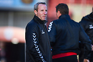 Lee Bowyer of Charlton Athletic (Manager) before the EFL Sky Bet League 1 match between Barnsley and Charlton Athletic at Oakwell, Barnsley, England on 29 December 2018.