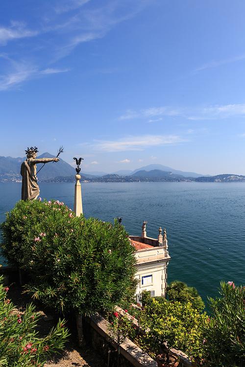 Isola Bella at Lago Di Maggiore, Italy.