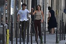 Jack Depp with Girlfriend in Paris - 21 May 2020