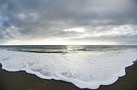 Approaching sea, west coast New Zealand