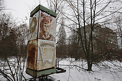 December 22, 2016 - Kiev, Ukraine - A view of the deserted town of Pripyat,two kilometers from the Chernobyl nuclear power plant, Ukraine, on 22 December,2016. The explosion of Unit four of the Chernobyl nuclear power plant on 26 April 1986 is still regarded the biggest accident of nuclear power generation  in the history. (Credit Image: © Serg Glovny via ZUMA Wire)