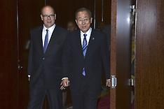 New York: Prince Albert II of Monaco visits The UN Headquarters, 24 Oct. 2016