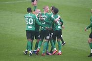 GOAL CELE 0-1 BIRMINGHAM CITY'S Kristian Pedersen during the EFL Sky Bet Championship match between Blackburn Rovers and Birmingham City at Ewood Park, Blackburn, England on 8 May 2021.