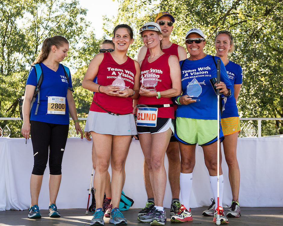 Team With a Vision visually impaired runners