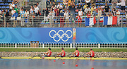 Shunyi, CHINA.  POL M4X Gold medalist, at the 2008 Olympic Regatta, Shunyi Rowing Course. Sun. 17.08.2008  [Mandatory Credit: Peter SPURRIER, Intersport Images]