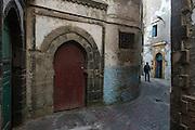 Inside the walled medinah of Essaouira