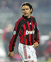 "Filippo Inzaghi (Milan)<br /> Italian ""Serie A"" 2006-07 <br /> 18 Nov 2006 (Match Day 12)<br /> Empoli-Milan (0-0)<br /> ""Castellani"" Stadium-Empoli-Italy<br /> Photographer Luca Pagliaricci INSIDE<br /> (www.insidefoto.com)"