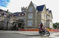 29-09-2013 Santander<br /> IV Gran Carrera Motos Clasicas en el Palacio de la Magdalena<br /> Antonio Garcia Sanchez, con la moto Bultaco  Metralla<br /> Fotos: Juan Manuel Serrano Arce