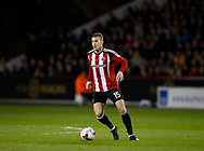 Paul Coutts of Sheffield Utd during the English League One match at Bramall Lane Stadium, Sheffield. Picture date: April 5th 2017. Pic credit should read: Simon Bellis/Sportimage