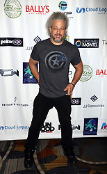 "Joe Reitman arriving for the One Step Closer ""All In For CP"" celebrity charity poker event held at Ballys Poker Room, Ballys Hotel & Casino, Las Vegas, December 9, 2018"