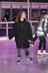 ALFIE ALLEN at Skate at Somerset House in association with Fortnum & Mason held on 10th November 2014.