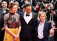 Alice Rohrwacher, Alejandro Gonzalez Inarritu and Kelly Reichardt at the Opening Ceremony and The Dead Don't Die gala screening at the 72nd Cannes Film Festival Tuesday 14th May 2019, Cannes, France. Photo credit: Doreen Kennedy