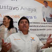 Toluca, México.- Gustavo Anaya  Maya , candidato a la alcaldía de Toluca por Movimiento Ciudadano advirtió que su campaña no será de grandes gastos pero si de ideas y propuestas serias para la población. Agencia MVT / Crisanta Espinosa