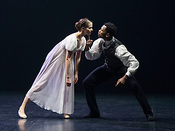 Northern Ballet <br /> Contemporary Cuts 2021 <br /> at Sadler's Wells, London, Great Britain <br /> 11th June 2021 <br /> Rehearsal <br /> Ballet is back for 2021 with this exciting compilation of world-class dance from Northern Ballet.<br /> <br /> <br /> Jane Eyre by Cathy Marston<br /> Mlindi Kulashe<br /> Dominique Larose<br /> <br /> <br /> Contemporary Cuts 2021 <br /> Runs 11th & 12th June 2021 <br /> <br /> <br /> <br /> Photograph by Elliott Franks
