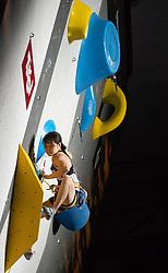 08.09.2018, Kletterzentrum, Innsbruck, AUT, IFSC, Kletter WM Innsbruck 2018, Halbfinale, Damen, Vorstieg, im Bild Mei Kotake (JPN) // Mei Kotake of Japan during Semi-Finals of Women Lead for the IFSC Climbing World Championships 2018 at the Kletterzentrum in Innsbruck, Austria on 2018/09/08. EXPA Pictures © 2018, PhotoCredit: EXPA/ Johann Groder