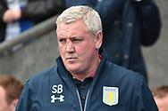 Aston Villa Manager, Steve Bruce  during the EFL Sky Bet Championship match between Blackburn Rovers and Aston Villa at Ewood Park, Blackburn, England on 29 April 2017. Photo by Mark Pollitt.