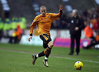 Photo: Rich Eaton.<br /> <br /> Wolverhampton Wanderers v Leeds United. Coca Cola Championship. 24/02/2007. Michael Kightly who scored the only goal of the game for Wolves