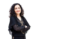 Deniz Beyazit, Islamic Art curator at the Metropolitan Museum of Art, poses for a portrait to be used on 82nd and 5th, a web feature. © 2012 MMA, photographed by Jackie Neale Chadwick